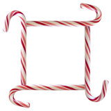 candy cane square border