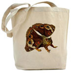 butterfly squirrel bag
