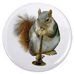 squirrel with horn button