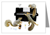 squirrels at the piano from cafepress
