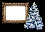 dove tree photo frame