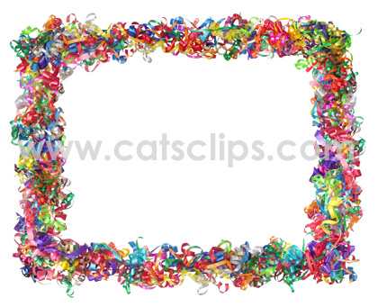 Curly Ribbons Border